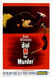 Dial M for Murder 1954 Cover