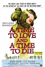 A Time to Love and a Time to Die 1958 Cover
