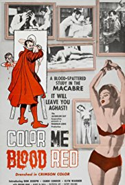 Color Me Blood Red 1965 Cover