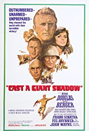 Cast a Giant Shadow 1966 Cover