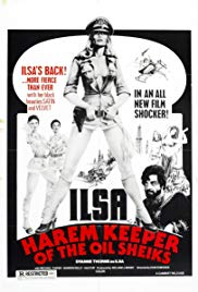 Ilsa, Harem Keeper of the Oil Sheiks 1976 Cover
