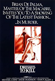 Dressed to Kill 1980 Cover