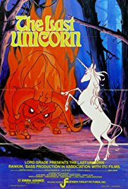 The Last Unicorn 1982 Cover
