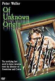 Of Unknown Origin 1983 Cover