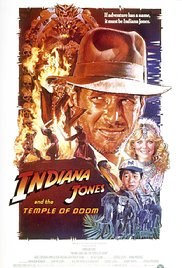 Indiana Jones and the Temple of Doom 1984 Cover
