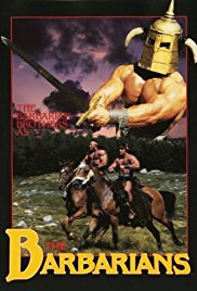 The Barbarians 1987 Cover
