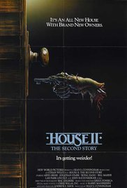 House II: The Second Story 1987 Cover