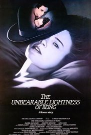 The Unbearable Lightness of Being 1988 Cover