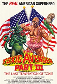 The Toxic Avenger Part III: The Last Temptation of Toxie 1989 Cover