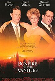 The Bonfire of the Vanities 1990 Cover