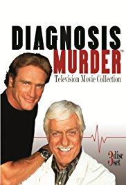 Diagnosis Murder: Diagnosis of Murder 1992 Cover