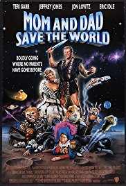 Mom and Dad Save the World 1992 Cover