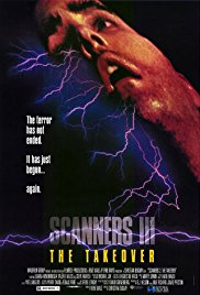 Scanners III: The Takeover 1991 Cover