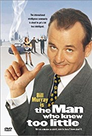 The Man Who Knew Too Little 1997 Cover