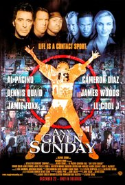 Any Given Sunday 1999 Cover