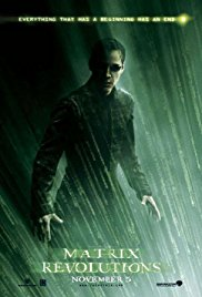 The Matrix Revolutions 2003 Cover