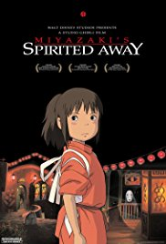 Spirited Away 2001 Cover