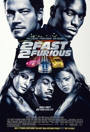 2 Fast 2 Furious 2003 Cover