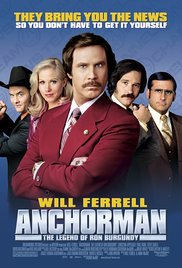 Anchorman: The Legend of Ron Burgundy 2004 Cover
