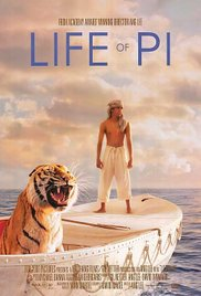 Life of Pi 2012 Cover