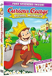 Curious George: Royal Monkey 2019 Cover