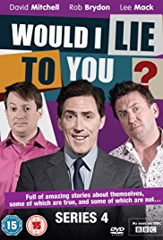 Would I Lie to You? 2007 Cover