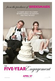 The Five-Year Engagement 2012 Cover