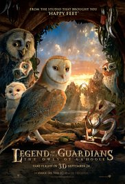 Legend of the Guardians: The Owls of Ga'Hoole 2010 Cover