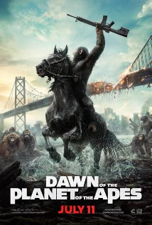 Dawn of the Planet of the Apes 2014 Cover