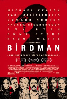Birdman or (The Unexpected Virtue of Ignorance) 2014 Cover