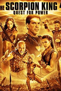 The Scorpion King 4: Quest for Power 2015 Cover