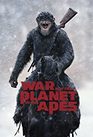War for the Planet of the Apes 2017 Cover