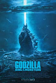 Godzilla: King of the Monsters 2019 Cover