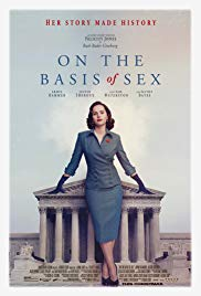 On the Basis of Sex 2018 Cover