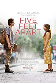 Five Feet Apart 2019 Cover