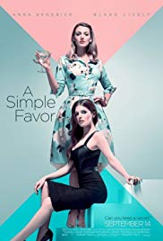 A Simple Favor 2018 Cover