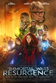 The Immortal Wars: Resurgence 2019 Cover