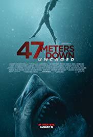 47 Meters Down: Uncaged 2019 Cover