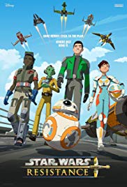 Star Wars Resistance 2018 Cover